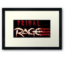 Primal Rage (Genesis Title Screen) Framed Print