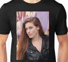 Portrait of a young woman Unisex T-Shirt
