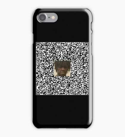 Chief Keef copypasta qr code iPhone Case/Skin