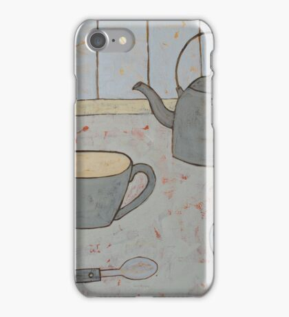 A cup of strong tea  iPhone Case/Skin