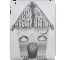 (throwback) Halloween House iPad Case/Skin