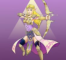 Hylian Warrior by GoldenLegend
