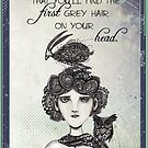 The first grey hair on your head (female) by Jenny Wood