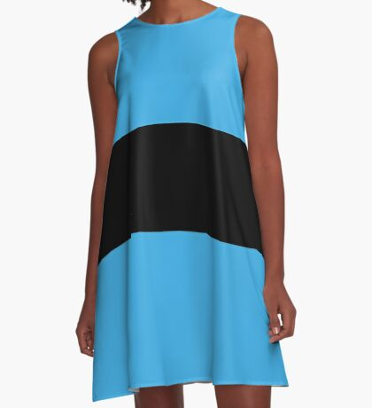 Bubbles - Powerpuff Girls  A-Line Dress