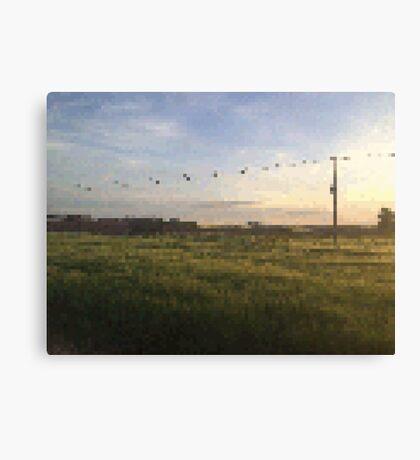 Meadow PixelArt Canvas Print