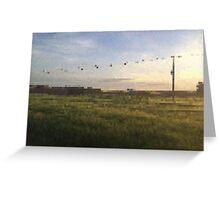 Meadow PixelArt Greeting Card