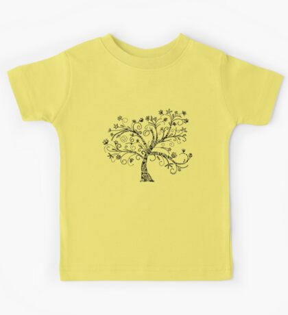 Abstract Tree Kids Tee