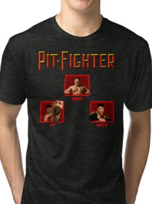 Pit-Fighter (Genesis Title Screen) Tri-blend T-Shirt
