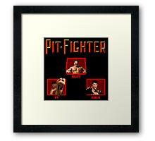 Pit-Fighter (Genesis Title Screen) Framed Print