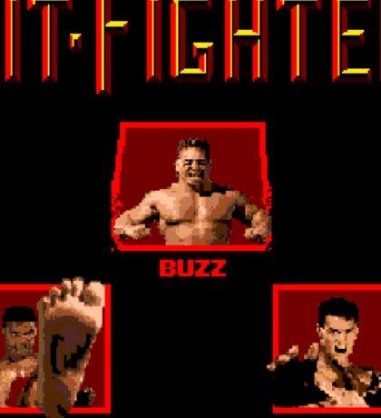 Pit-Fighter (Genesis Title Screen) Sticker