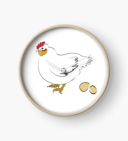 golden eggs Clock