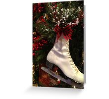 Winter Skate  Greeting Card