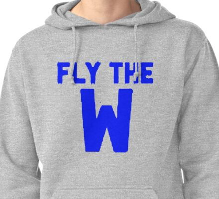 Fly The Win Pullover Hoodie