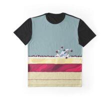 Trifle Shark in #7da1a3 Graphic T-Shirt