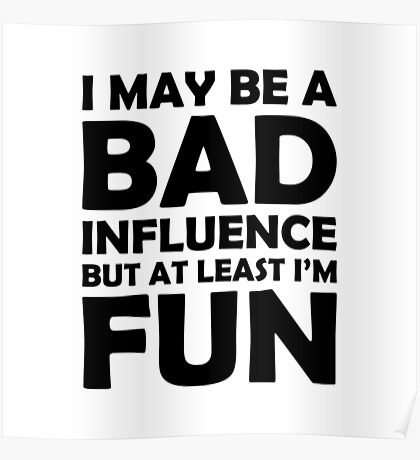 At Least I'm Fun Poster
