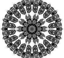 Owl Pattern Kaleidoscope 02 by fantasytripp