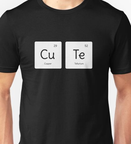 Cool Period Table Science  Unisex T-Shirt