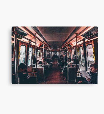 Transport PixelArt Canvas Print