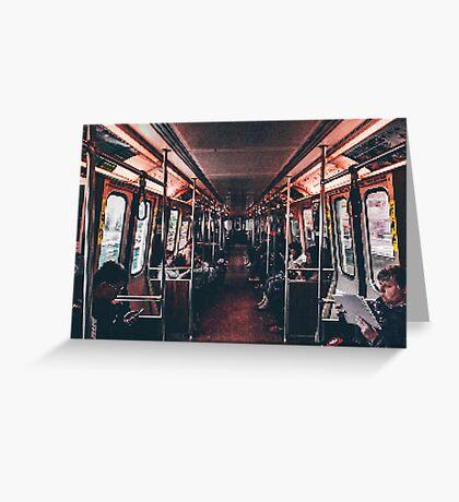 Transport PixelArt Greeting Card