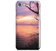 Autumn evening iPhone Case/Skin