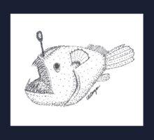 Anglerfish One Piece - Short Sleeve