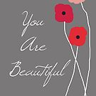 You are Beautiful in Red by VieiraGirl