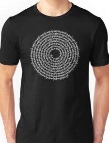 SPIRAL MALA - 108 GURU OM MANTRA T-Shirt