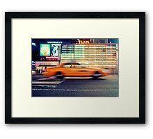 NYC Taxi Framed Print