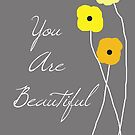 You are Beautiful in Yellow by VieiraGirl