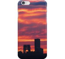 Autumn sky over New York City  iPhone Case/Skin