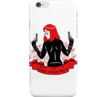 Black Widow Movie iPhone Case/Skin