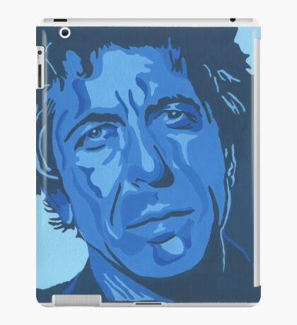 Tribute to Leonard Cohen iPad Case/Skin