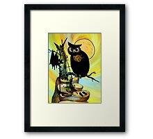 HALLOWEEN FRIGHTS Framed Print