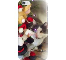 tifaany merry christmas iPhone Case/Skin