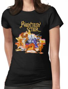 Phantasy Star Womens Fitted T-Shirt