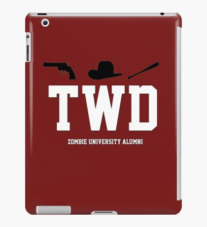 Zombie University Alumni iPad Case/Skin