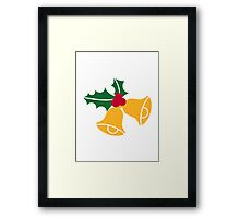 Bells holly Framed Print