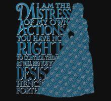 Mistress of My Own Actions (dark) by rjdaae