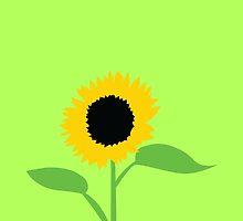 Summer sunflower by jazzydevil