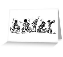 NEW ORLEANS SKETCH Greeting Card