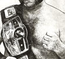 Harley Race NWA Champ Sticker
