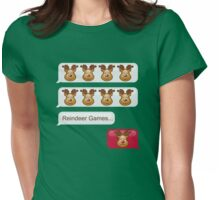 Reindeer Games Womens Fitted T-Shirt