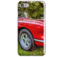 Trip Red Vette iPhone Case/Skin