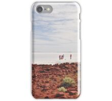 Tourists on Lake Gairdner iPhone Case/Skin