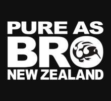 Pure as BRO New Zealand Kiwi by piedaydesigns
