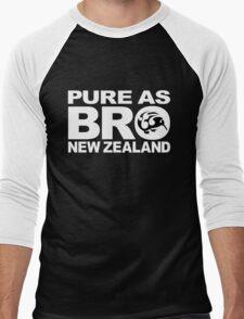 Pure as BRO New Zealand Kiwi Men's Baseball ¾ T-Shirt