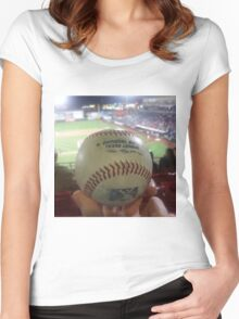 Love Baseball Women's Fitted Scoop T-Shirt