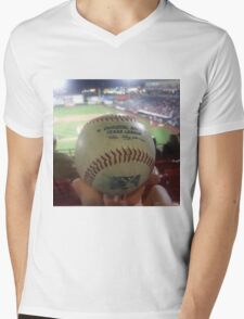 Love Baseball Mens V-Neck T-Shirt