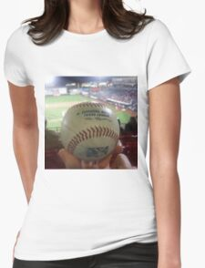Love Baseball Womens Fitted T-Shirt