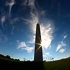 Washington Monument by Kent Nickell